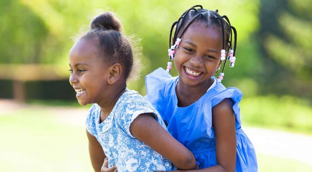 Young girls playing - Kentucky Dentistry for Kids