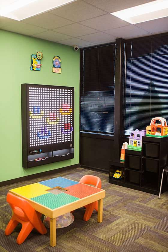 Play area - Kentucky Dentistry for Kids